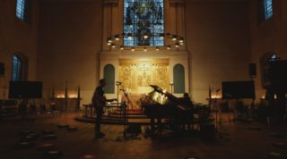 Leading worship in a traditional sanctuary for Lent